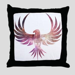 Bird of Prey Throw Pillow