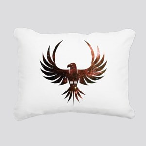 Bird of Prey Rectangular Canvas Pillow
