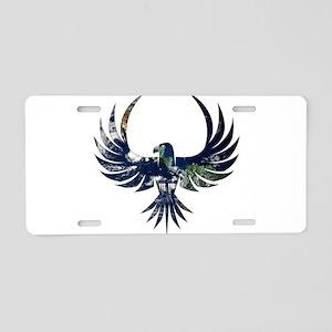 Bird of Prey Aluminum License Plate