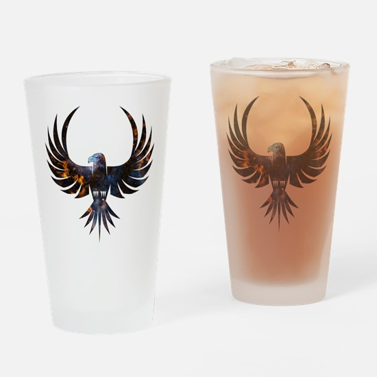 Bird of Prey Drinking Glass