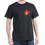 Canadian Mason Maple Leaf Dark T-Shirt