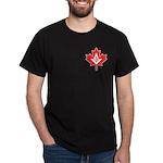 Canadian Mason Maple Leaf Dark T-Shirt