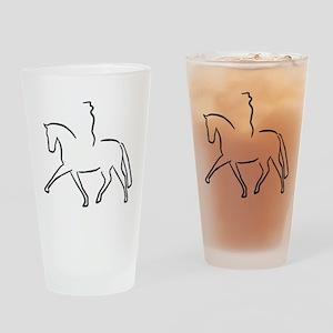 Dressurpferd Drinking Glass