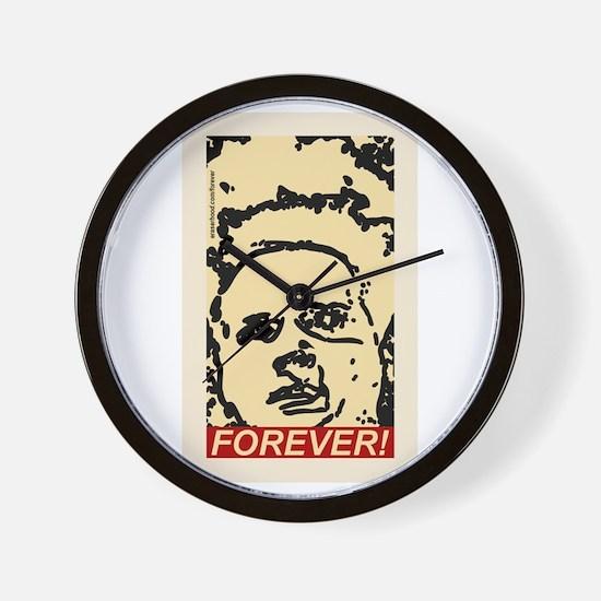 Eraserhood Forever! Wall Clock