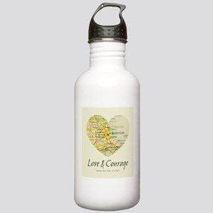 Boston Love and Courage Water Bottle