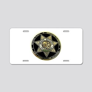 California Peace Officer Aluminum License Plate