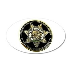 California Peace Officer Wall Decal
