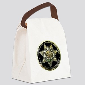 California Peace Officer Canvas Lunch Bag