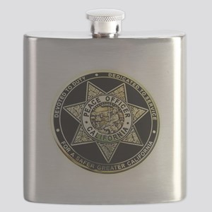 California Peace Officer Flask
