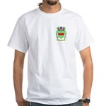 Cabell White T-Shirt