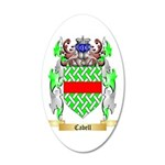 Cabell 35x21 Oval Wall Decal