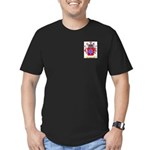 Cabeca Men's Fitted T-Shirt (dark)