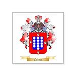Cabeca Square Sticker 3
