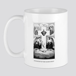Adoration of the Sacred Heart Mug