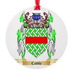Cabble Round Ornament