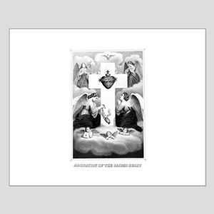 Adoration of the Sacred Heart Small Poster