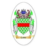 Cabble Sticker (Oval 10 pk)