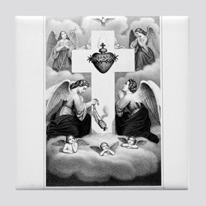 Adoration of the Sacred Heart Tile Coaster