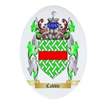 Cabble Ornament (Oval)