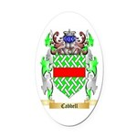 Cabbell Oval Car Magnet