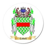 Cabbell Round Car Magnet