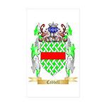 Cabbell Sticker (Rectangle 50 pk)