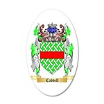 Cabbell 35x21 Oval Wall Decal