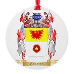 Cabanon Round Ornament