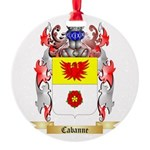 Cabanne Round Ornament