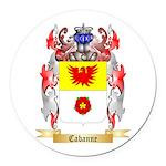 Cabanne Round Car Magnet
