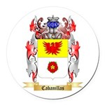 Cabanillas Round Car Magnet