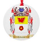 Cabanie Round Ornament