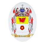 Cabanie Ornament (Oval)