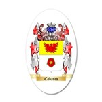 Cabanes 35x21 Oval Wall Decal