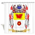 Cabanes Shower Curtain
