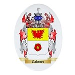 Cabanes Ornament (Oval)