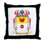 Cabane Throw Pillow