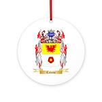Cabane Ornament (Round)