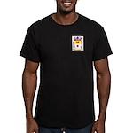 Cabanas Men's Fitted T-Shirt (dark)