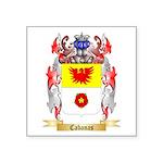Cabanas Square Sticker 3