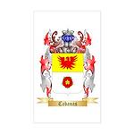 Cabanas Sticker (Rectangle)