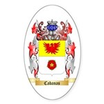 Cabanas Sticker (Oval)