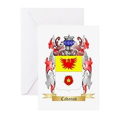 Cabanas Greeting Cards (Pk of 20)