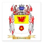 Cabanais Square Car Magnet 3