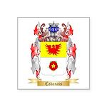 Cabanais Square Sticker 3