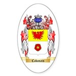 Cabanais Sticker (Oval 10 pk)
