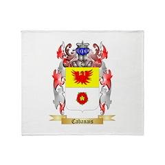 Cabanais Throw Blanket