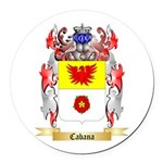 Cabana Round Car Magnet