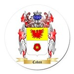 Caban Round Car Magnet
