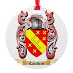 Caballero Round Ornament